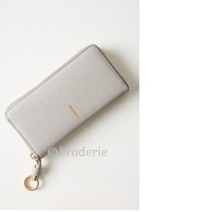 Anthropologie THACKER bo zip wallet